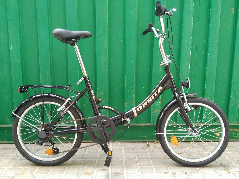 Orbita Bicicleta Plegable Eurobici: Amazon.es: Deportes y aire libre