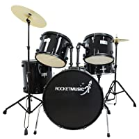 Rocket DKF01BK 22 inch Full Size Drum Kit
