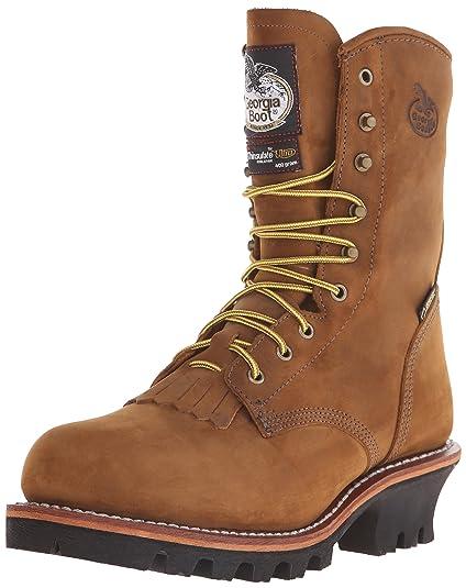 fa0a8e3a8b8 Georgia Boot Men's G9382 Logger Work Shoe