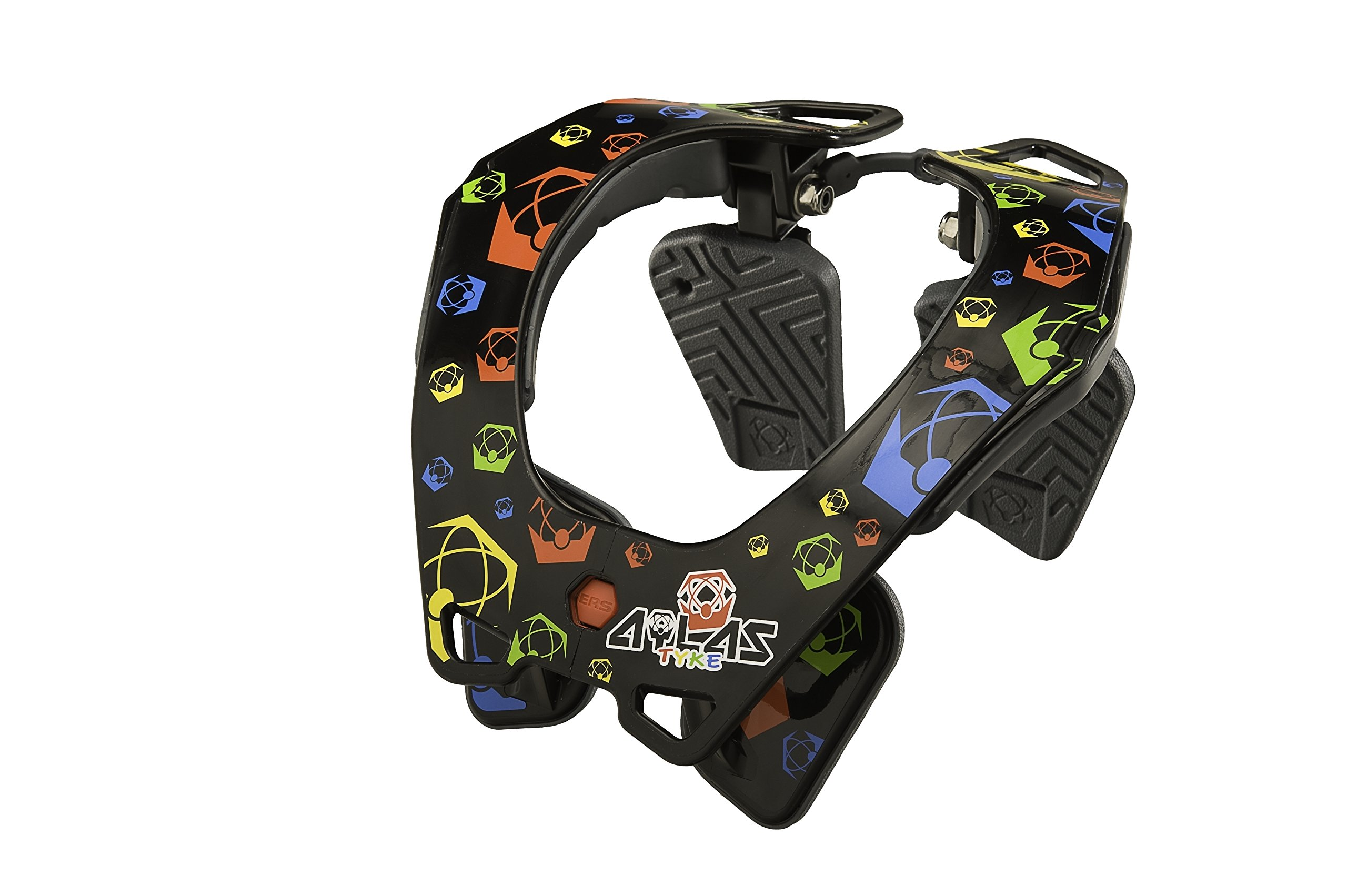 Atlas Tyke Neck Brace (Black, One Size)