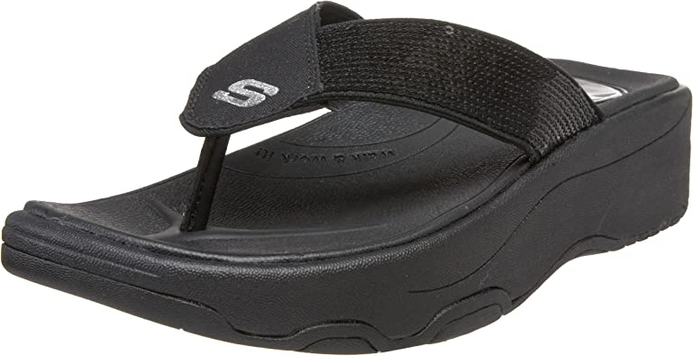 Shadow Box Thong Sandal