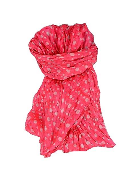 """Toalla bufanda estola """"Simply Pol kapunte largo Mode paño de gasa rosa con"""
