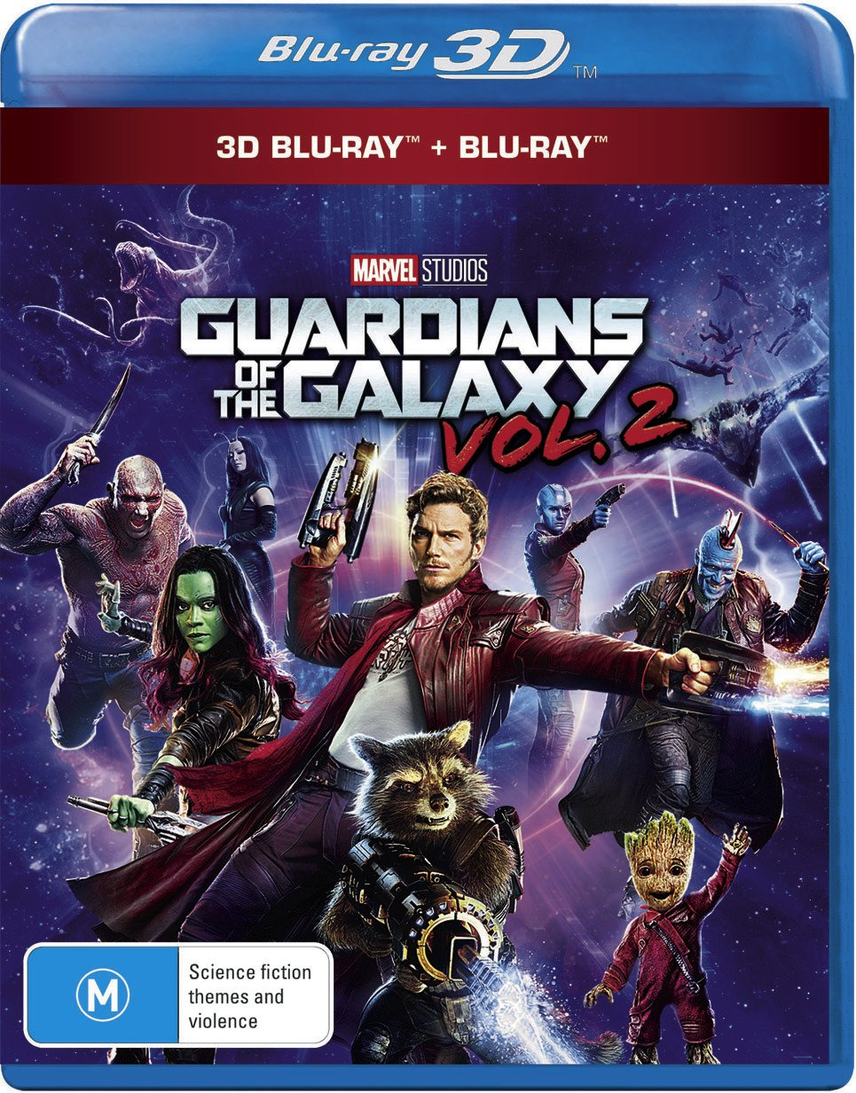 Guardians Of The Galaxy Volume 2 3D Blu-ray: Amazon.es: Cine y Series TV