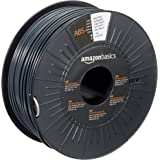 Amazon Basics ABS 3D Printer Filament, 2.85mm, Dark Gray, 1 kg Spool