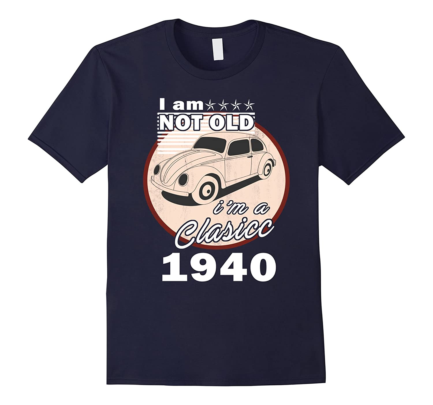 77th Birthday Shirt 77 Years old Gifts Classic 1940 Tee-TJ