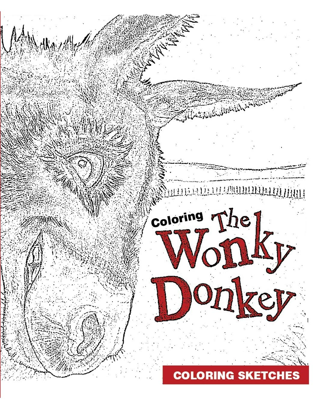 Coloring the wonky donkey coloring sketch craig smith