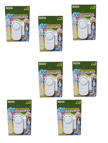 Amazon.com : Set of 7 Window Door Alarms Sirens Loudest Self ...