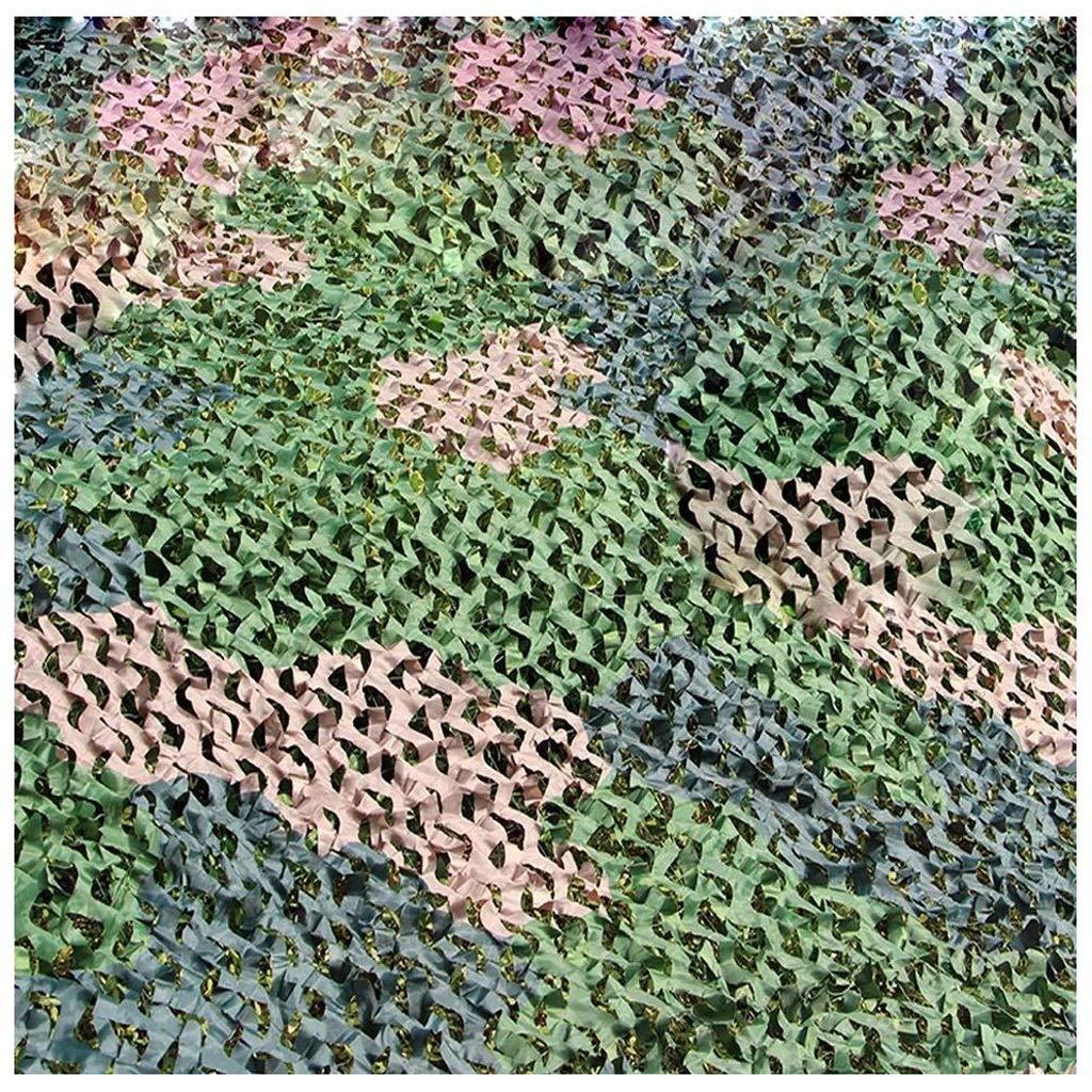 810m(26.232.8FT) Qjifangzyp Auvent de terrasse Camouflage Chasse Filet Filet Cacher Armée Militaire Oxford Tissu Camo Filet Filet de Camouflage Filet de Prougeection Solaire (Taille   4  5M(13.1  16.4ft))
