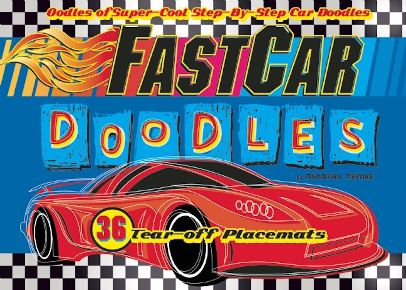 FastCar Doodles Placemats Doodle product image