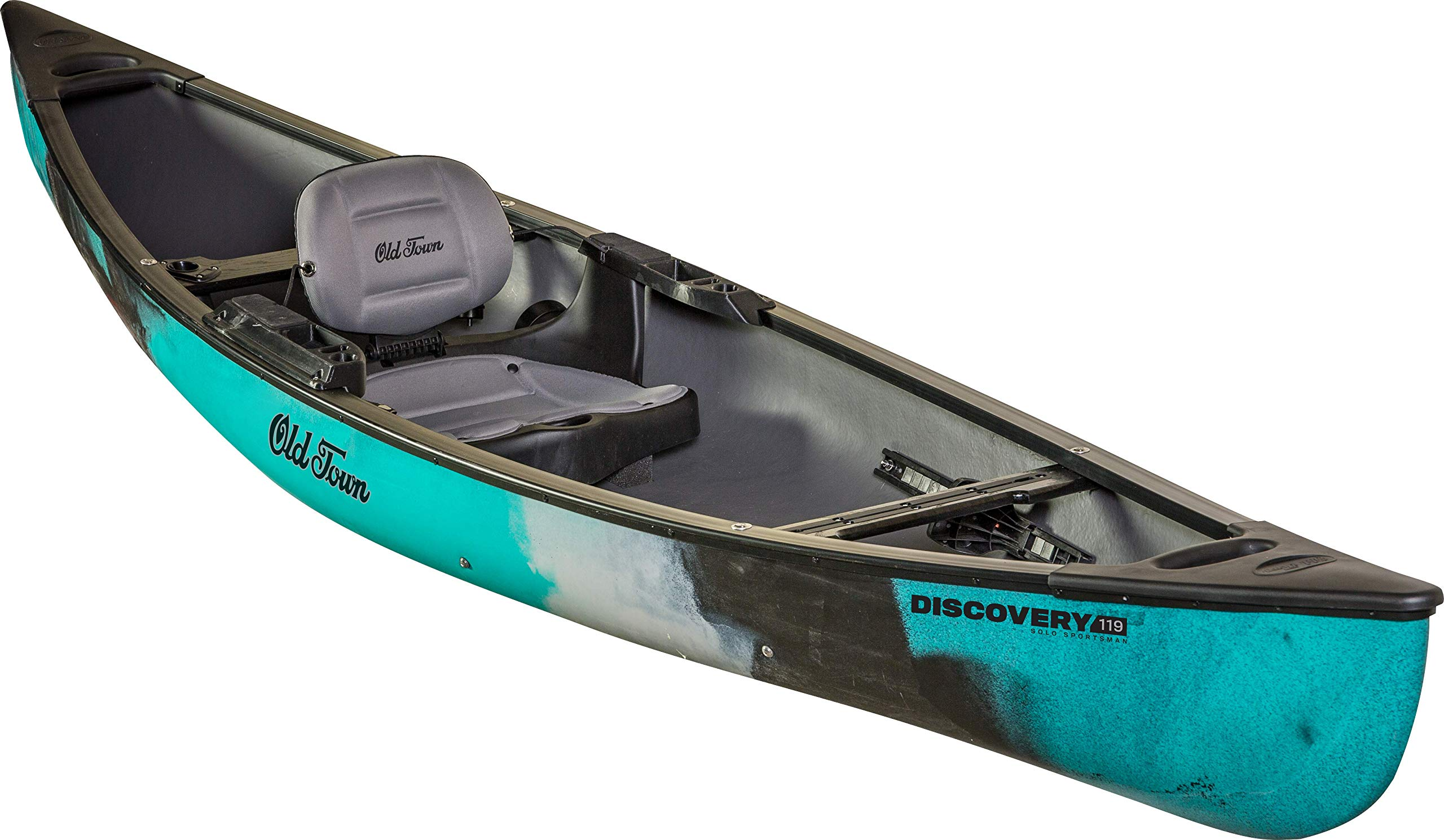 Old Town Discovery 119 Solo Sportsman Canoe (Photic) by Old Town Canoes & Kayaks