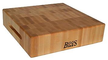 John Boos Maple Wood End Grain Reversible Butcher Block Cutting Board 18 X Quot