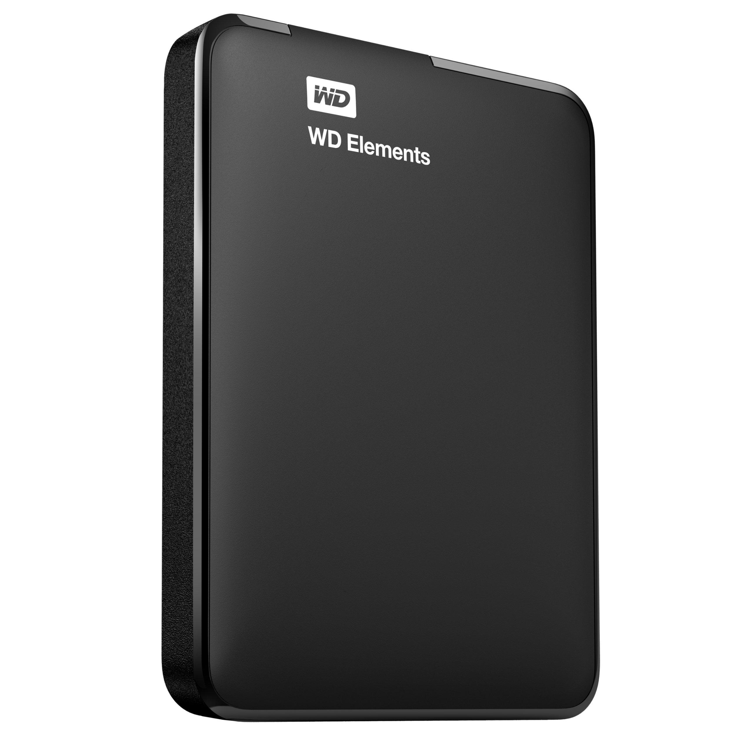WD Elements 2TB USB 3.0 Portable External Hard Drive (Black) product image