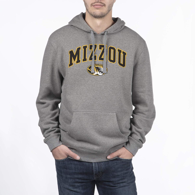 X-Large Dark Heather NCAA Missouri Tigers Mens Hoodie Sweatshirt Dark Charcoal Gray