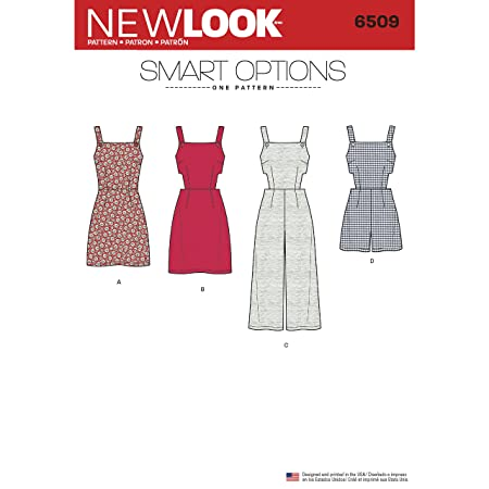 Simplicity New Look Women\'s Jumper/Romper/Dress with Bodice Sewing ...