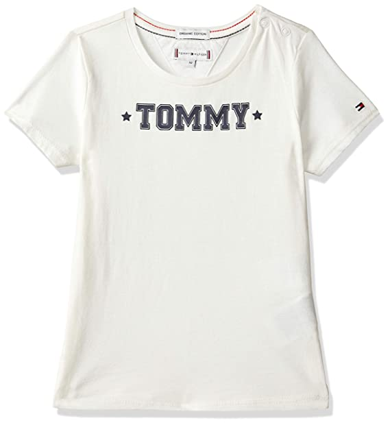 sale retailer low priced on sale TOMMY HILFIGER Girls' Plain Regular Fit T-Shirt: Amazon.in ...