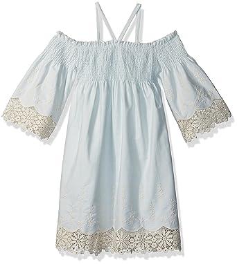 Amazon Com Biscotti Girls Barely Blue Dress Clothing
