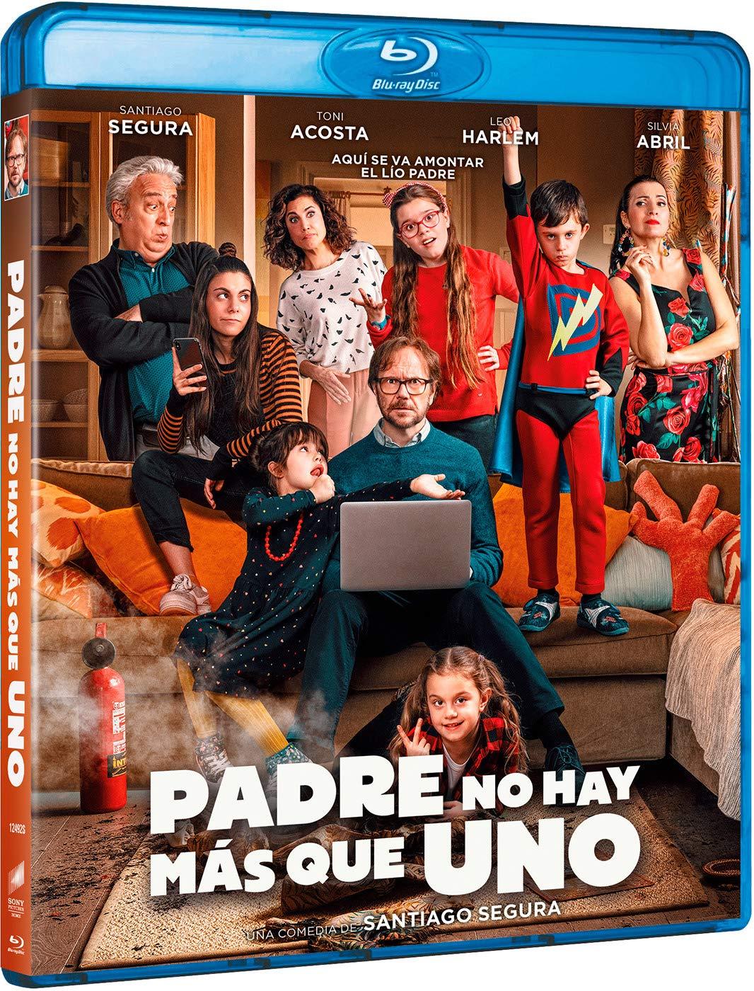Padre no hay más que uno (BD) [Blu-ray]: Amazon.es: Santiago ...