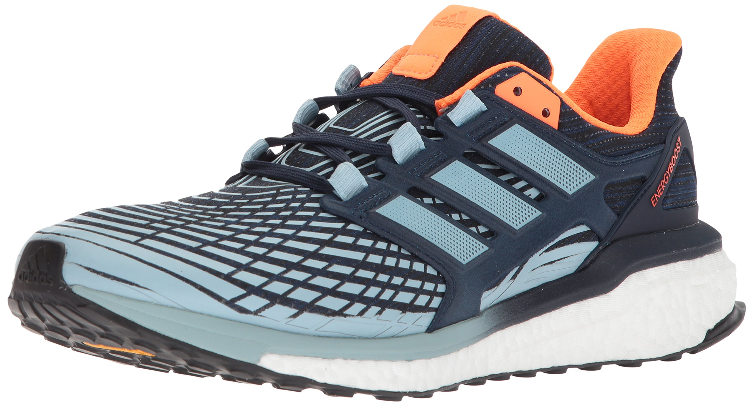 Los Angeles 4c87c 0ed92 adidas Performance Men's Energy Boost M Running Shoe, Collegiate Navy/Ash  Grey/Warning, 8 M US