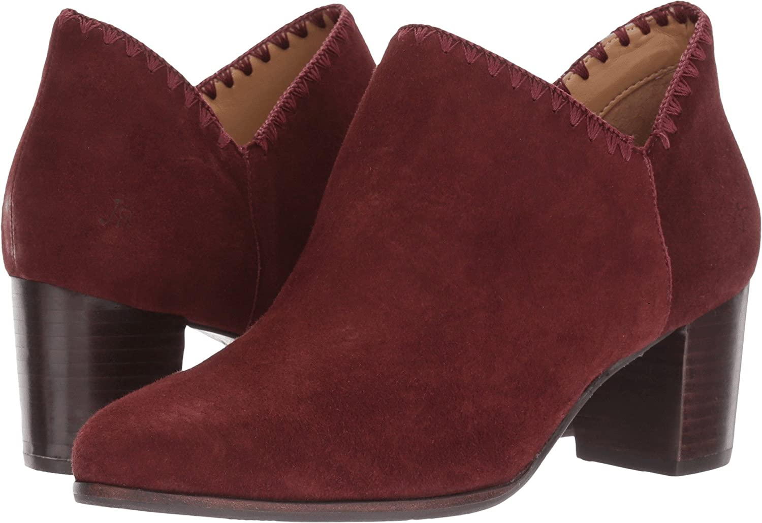 Jack Rogers Women's Marlow Ankle 8.5 Bootie B01N1V6CP7 8.5 Ankle B(M) US|Burgundy Suede fdedce