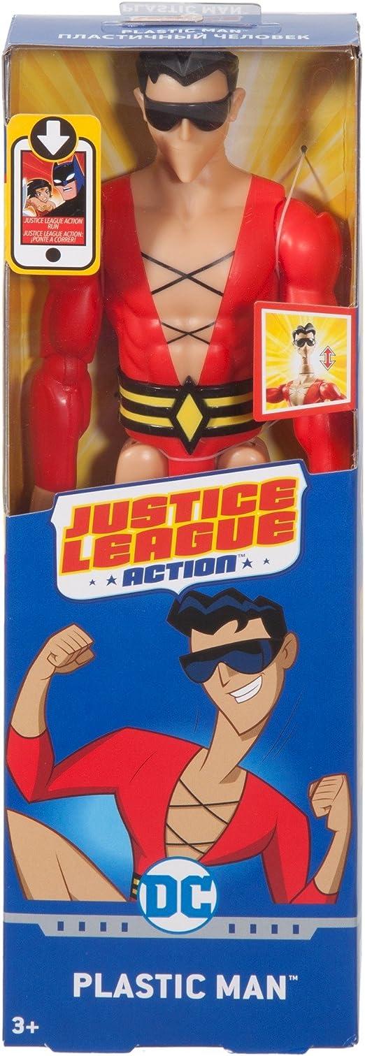 DC Comics Justice League Action Plastic Man 12 /'/' Action Figure