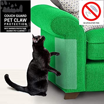 4 Piezas de protección contra rayones para Gatos, Protector de arañazos para Gatos, Flexible