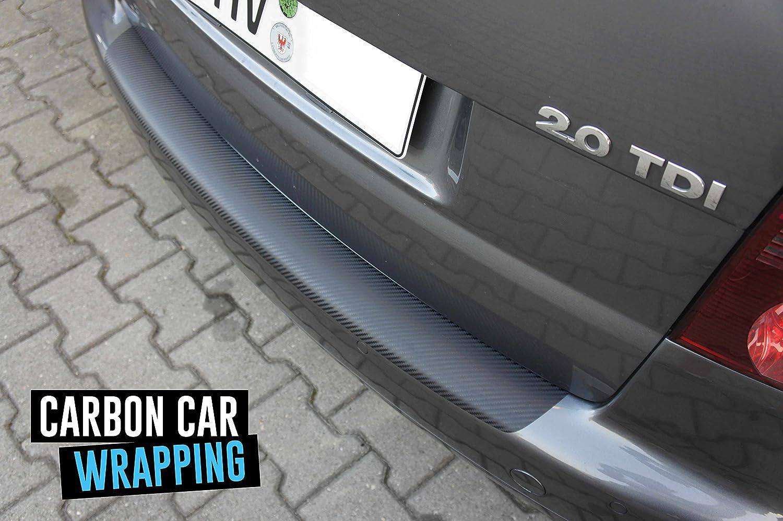 Schutzfolie in 3D Carbon Black passend f/ür Fahrzeug Modell Siehe Beschreibung Lackschutzshop Lackschutzfolie 160/µm 3D Carbon schwarz Ladekantenschutz