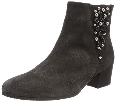 Gabor Shoes Comfort Sport, Botines Femme, Gris (Grau Micro), 42 EU