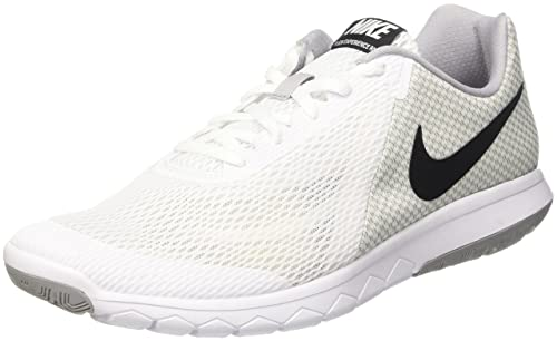 b89d4b4df92 Nike Men s Flex Experience RN 6 Running Shoe White Black Wolf Grey (9)  Buy  Online at Low Prices in India - Amazon.in