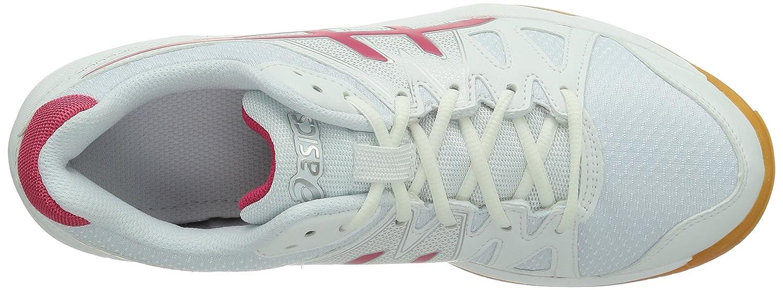 ASICS - Chaussures de - tennis à manches - longues/ en molleton (b450n) - Blanc/ Framboise 538f490 - acornarboricultural.info