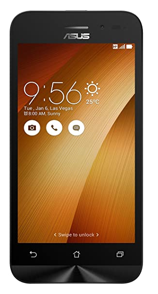 Asus Zenfone Go 4.5 2nd Gen  Gold, 8MP Camera  available at Amazon for Rs.5799