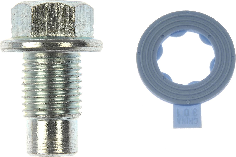 Dorman 090-049CD Oil Drain Plug Pilot Point M12-1.25 Head Size 13mm for Select Models