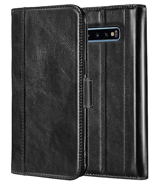 94729119be79 Amazon.com  ProCase Galaxy S10 Plus Genuine Leather Case