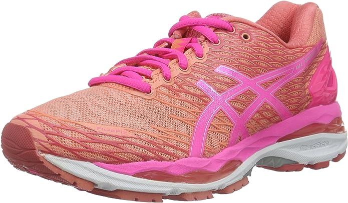 ASICS W S Gel-Nimbus 18, Zapatillas de Running para Mujer: Amazon.es: Zapatos y complementos