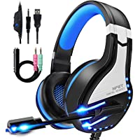Deals on NPET HS10 Stereo Gaming Headset for PS4