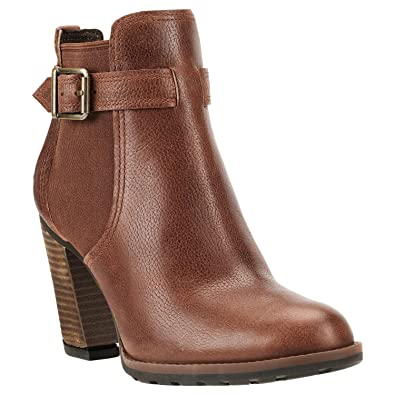 637f0186b4af21 Timberland Stratham Heights Double Ladies Ankle Boots Dark Brown 5.5 UK EU  38.5 US 7.5 JP 24.5  Amazon.co.uk  Shoes   Bags