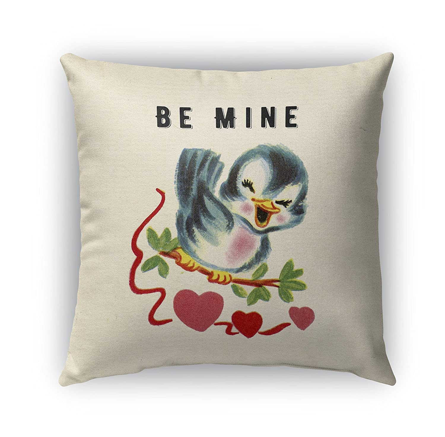 Red//Green//Blue KAVKA Designs Be Mine Indoor-Outdoor Pillow, TELAVC8148OP16 - TRADITIONS Collection Size: 16X16X6 -