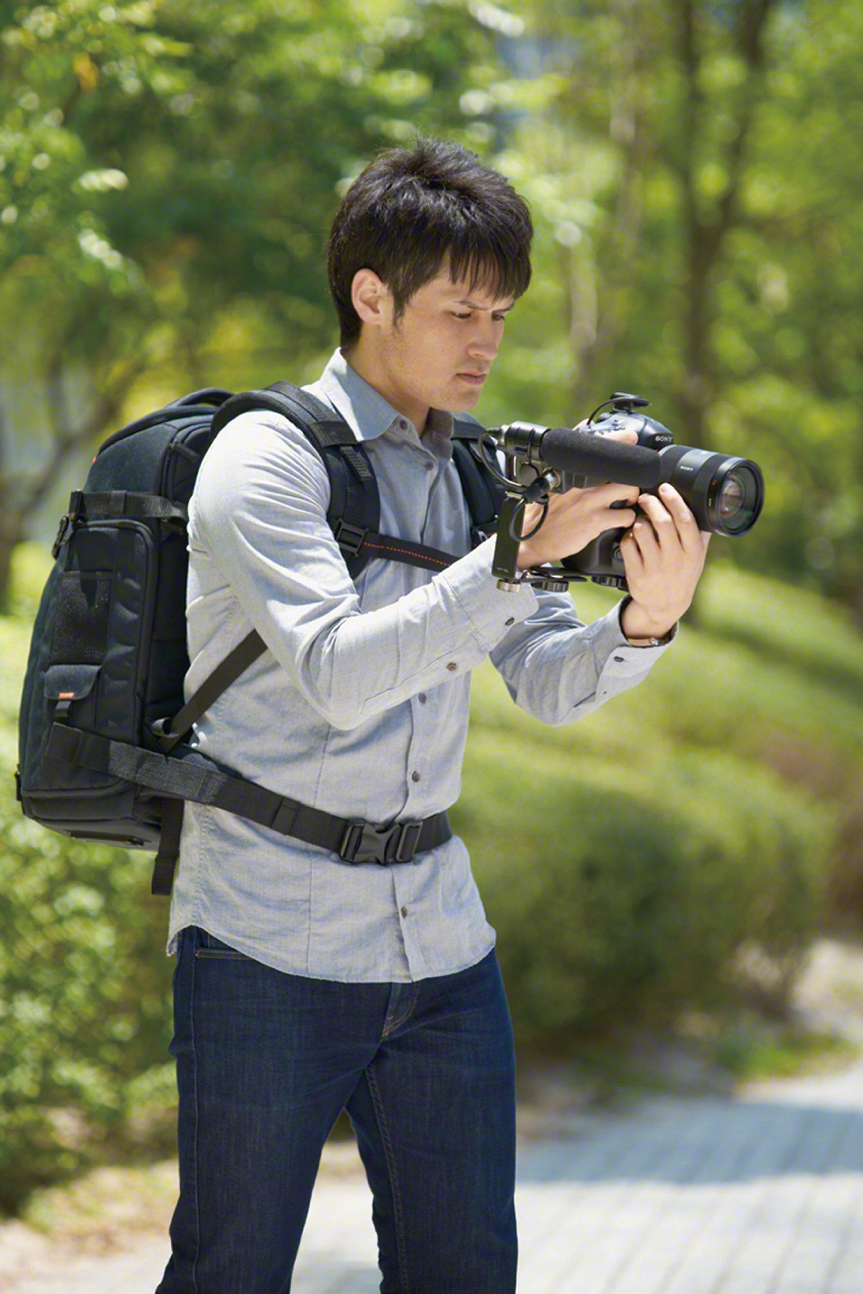 Sony LCSBP3  DSLR System Backpack with Laptop Storage,  (Black)