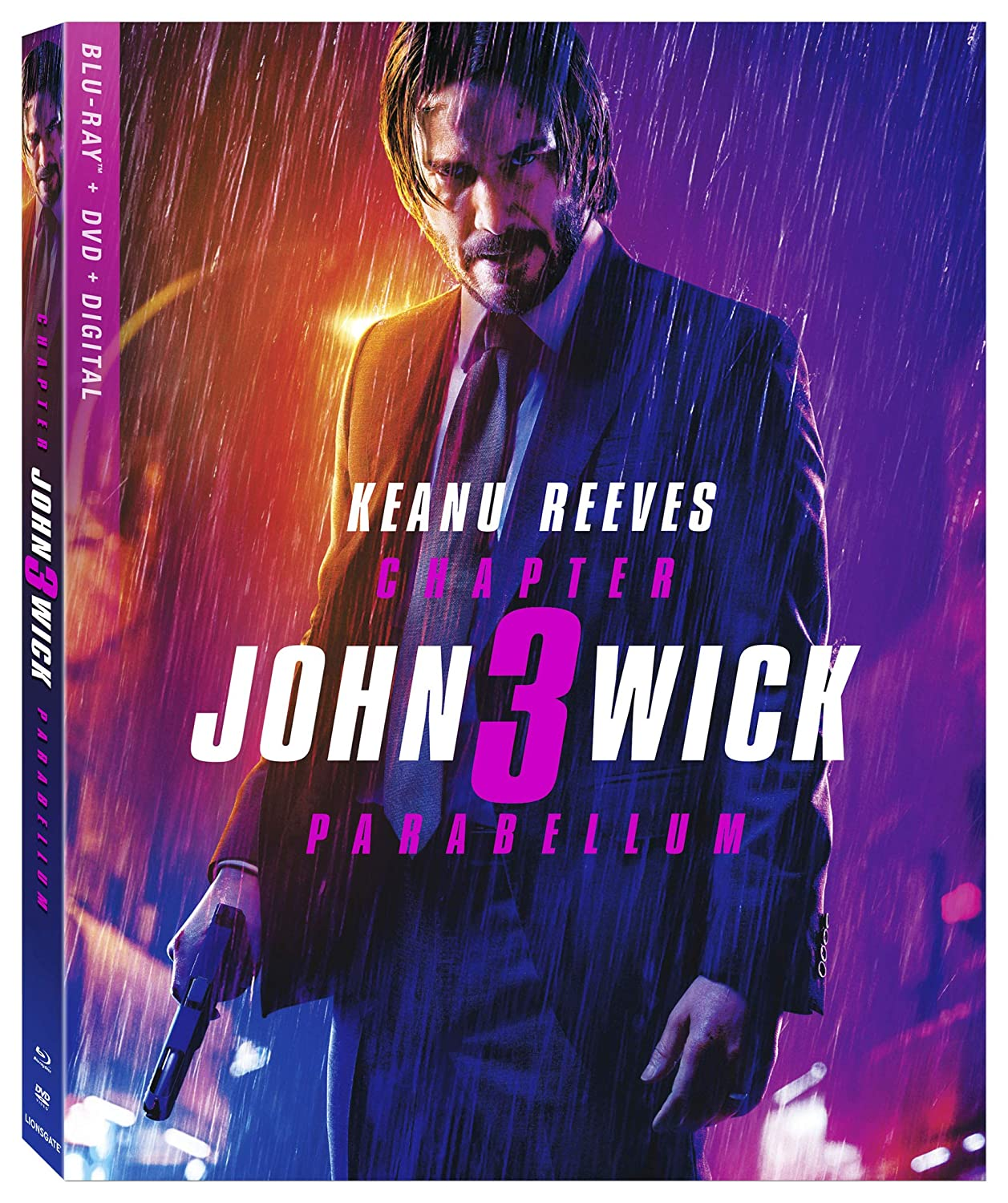 Amazon.com: John Wick: Chapter 3 – Parabellum [Blu-ray]: Keanu ...