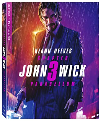 Amazon com: John Wick: Chapter 3 [Blu-ray]: Keanu Reeves