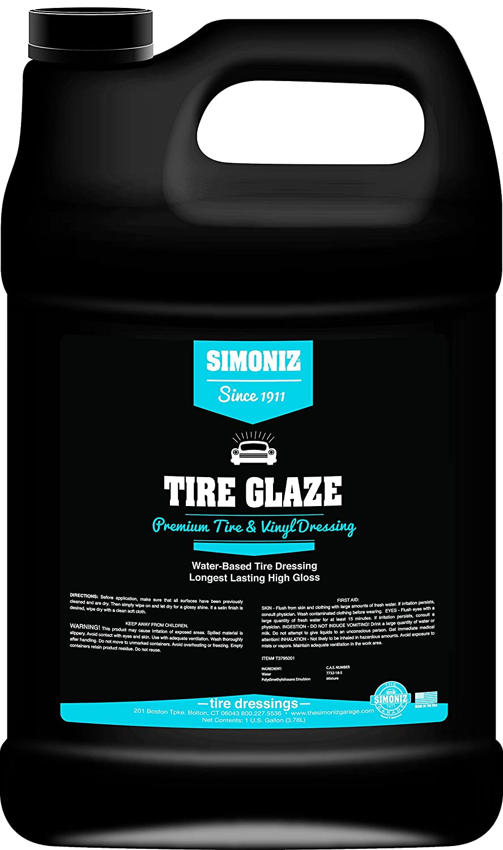 Simoniz T3795001 Tire Glaze Tire Dressing, 1 Gallon, 1 Pack