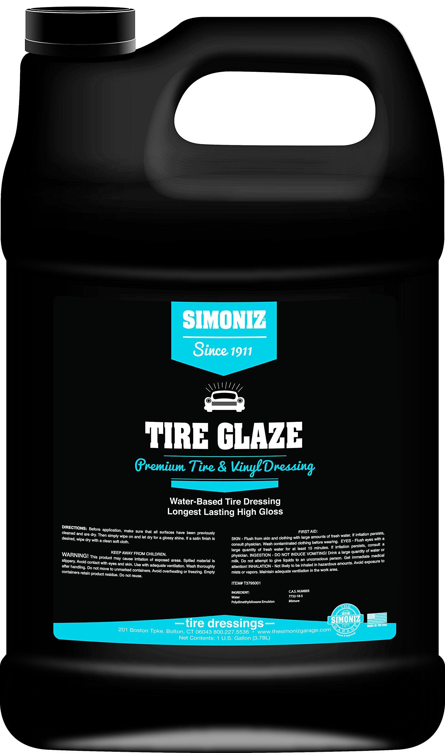 Simoniz T3795001 Glaze Tire Dressing, 1 Gallon, 128. Fluid_Ounces