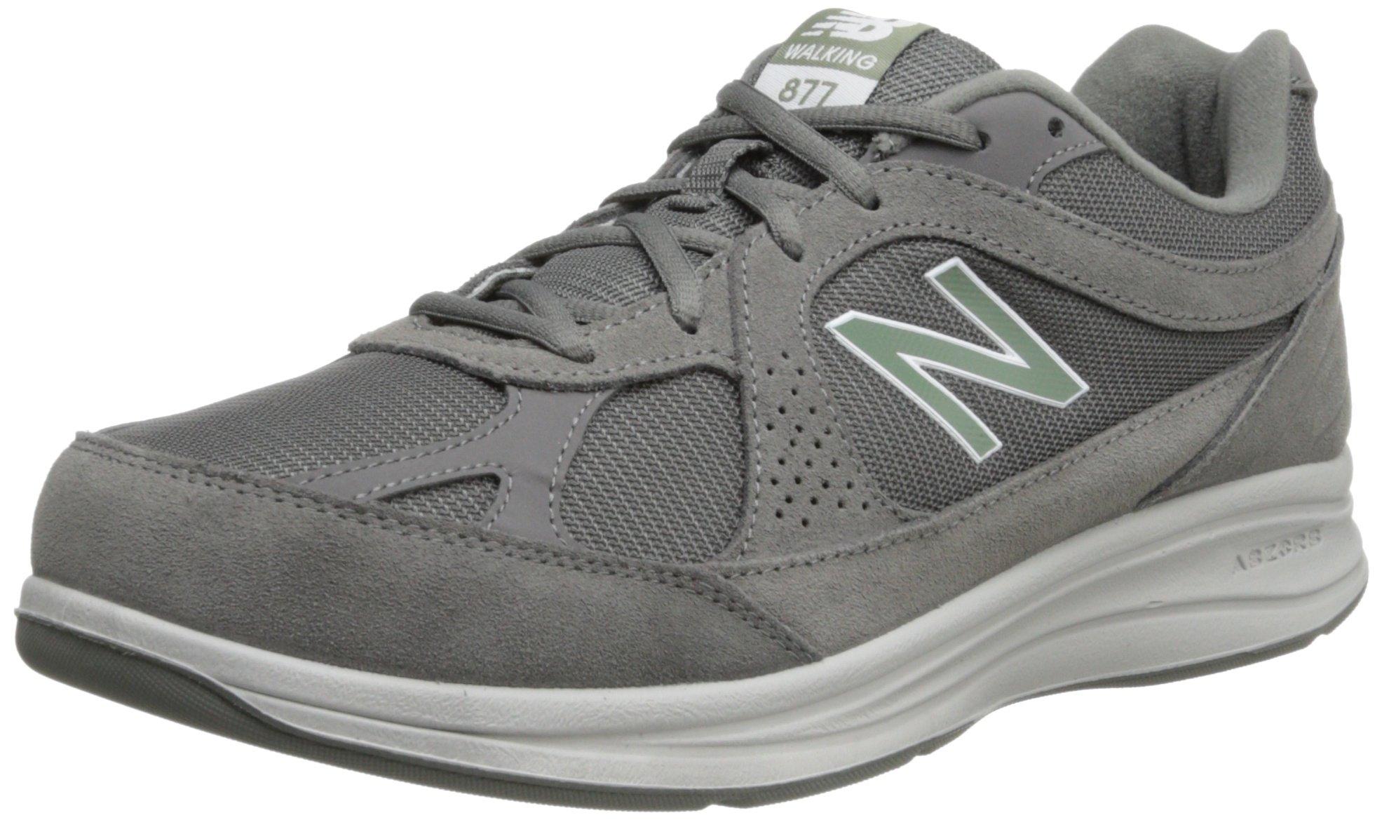 New Balance Men's MW877 Walking Shoe,  Grey, 11 W US by New Balance
