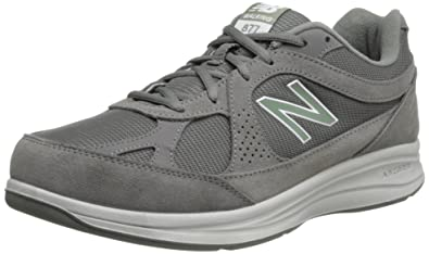 New Balance Men's MW877 Walking Shoe,Grey,7