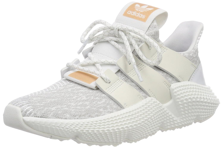 Adidas Prophere W, Zapatillas de Gimnasia para Mujer 37 1/3 EU|Blanco (Footwear White/Footwear White/Supplier Colour 0)