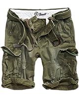Brandit Shell Valley Vintage Shorts oliv