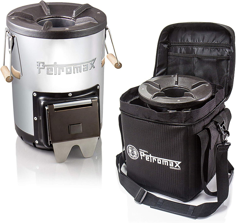 Petromax - Horno de misiles rf 33 para exteriores, juego de iniciación con bolsa