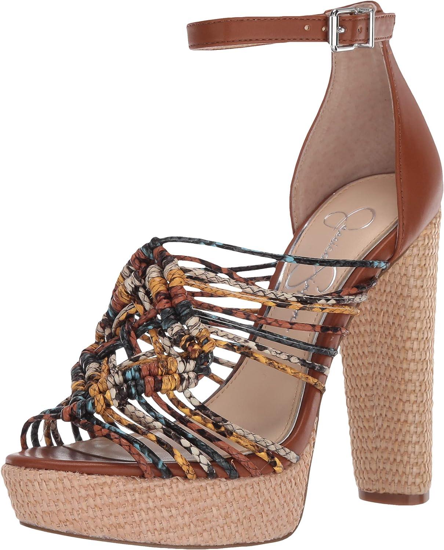jessica simpson black platform heels