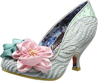 A Mint High Stiletto Heel Flower Shoes Irregular Choice little Peaches