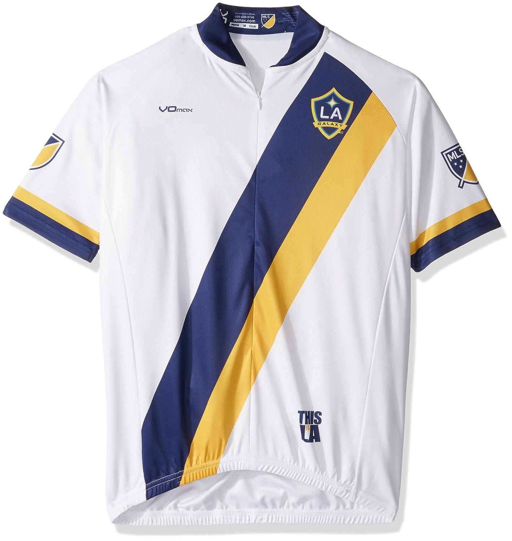 MLS Men 's Primary半袖サイクリングジャージー B017NPYKEQ XX-Large|ホワイト|Los Angeles Galaxy ホワイト XX-Large
