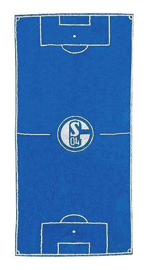 FC Schalke 04 Duschtuch Blockstreifen